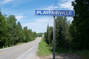 Playfairville sign