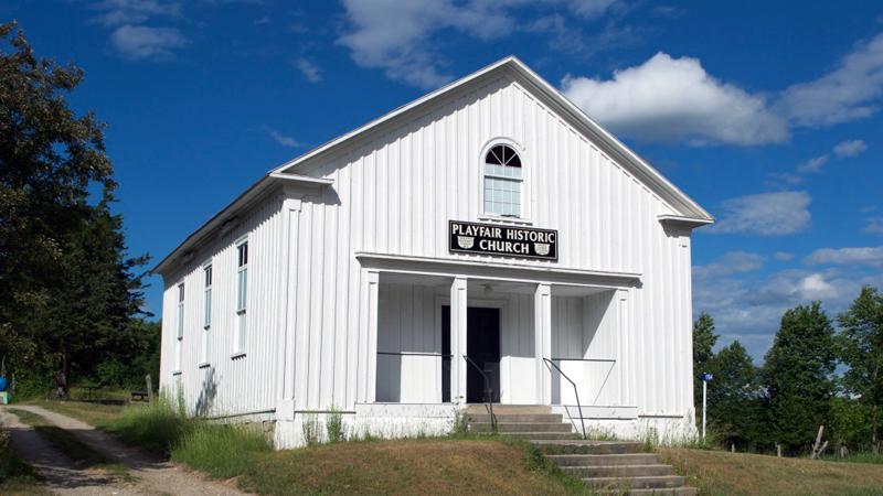 Playfair Historic Church
