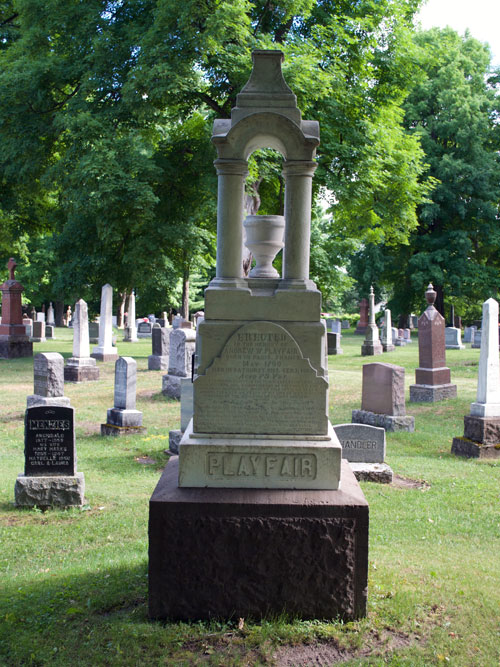Playfair monument after cleaning